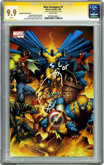 CGC Graded Comics - New Avengers #1 (CGC)