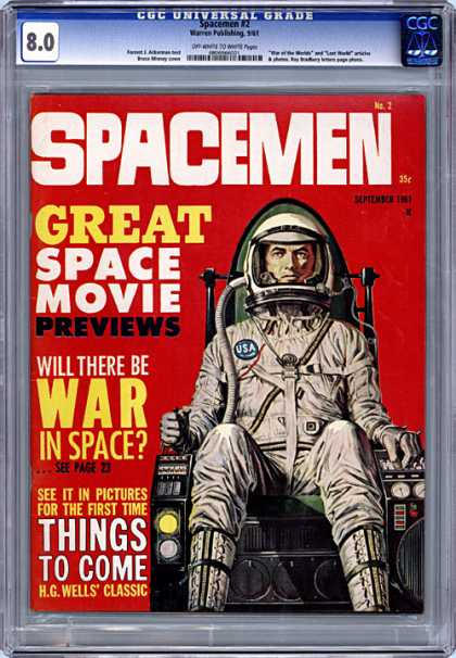 CGC Graded Comics - Spacemen #2 (CGC)