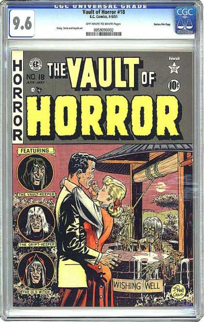 CGC Graded Comics - Vault of Horror #18 (CGC)