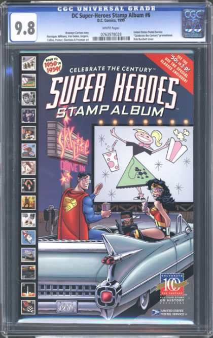 CGC Graded Comics - DC Super-Heroes Stamp Album #6 (CGC)