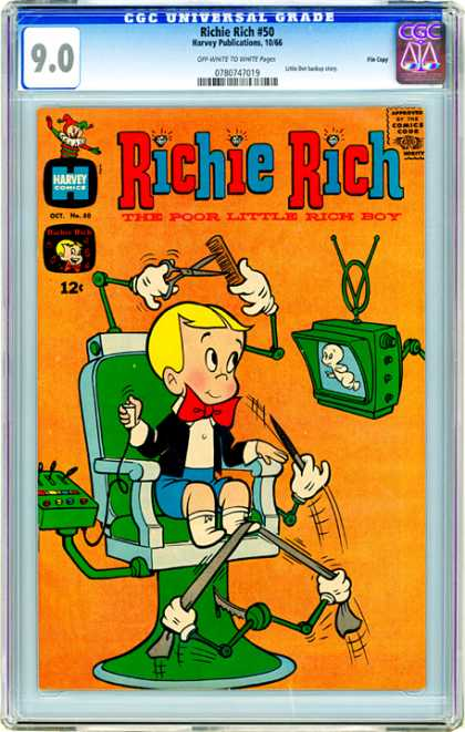 CGC Graded Comics - Richie Rich #50 (CGC)