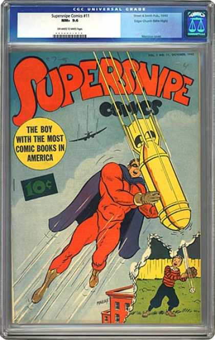 CGC Graded Comics - Supersnipe Comics #11 (CGC)