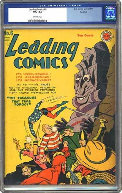 CGC Graded Comics - Leading Comics #12 (CGC)