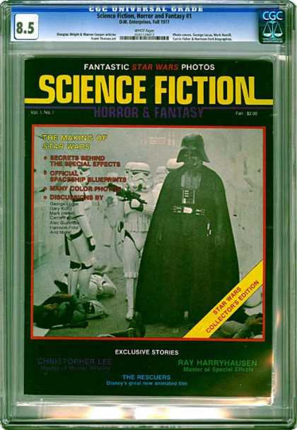 CGC Graded Comics - Science Fiction, Horror and Fantasy #1 (CGC)