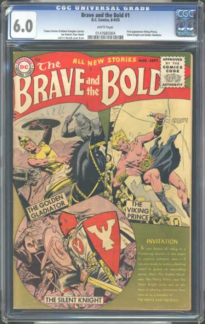 CGC Graded Comics - Brave and the Bold #1 (CGC)