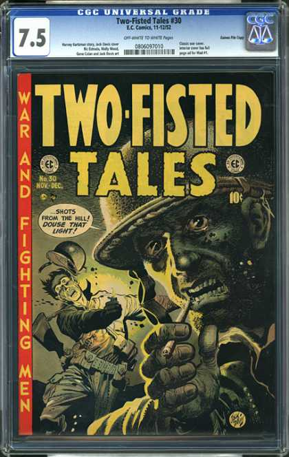 CGC Graded Comics - Two-Fisted Tales #30 (CGC)