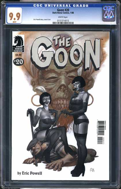 CGC Graded Comics - Goon #20 (CGC) - The Goon - 20 - Eric Powell - Women With Canes - Woman Sitting On Man