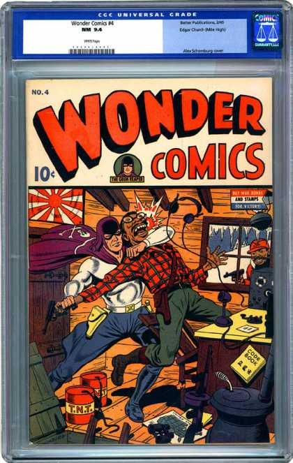 CGC Graded Comics - Wonder Comics #4 (CGC)