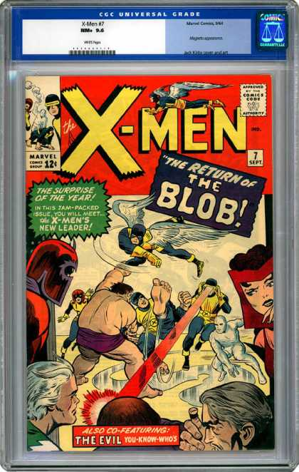CGC Graded Comics - X-Men #7 (CGC)