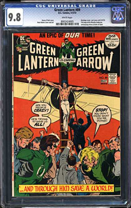 CGC Graded Comics - Green Lantern #89 (CGC)