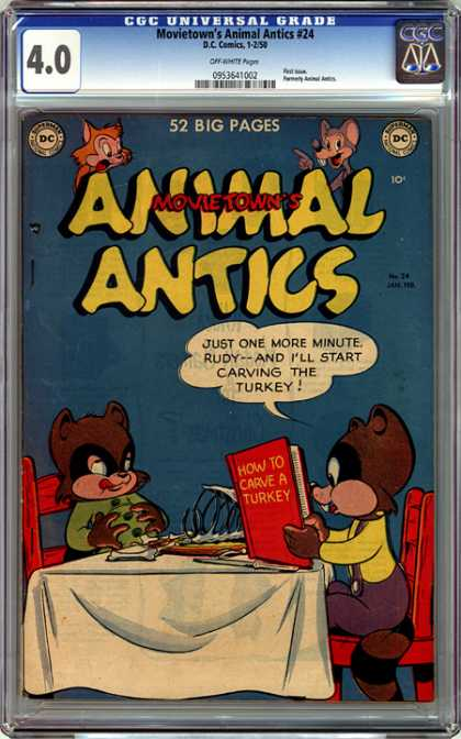 CGC Graded Comics - Movietown's Animal Antics #24 (CGC)