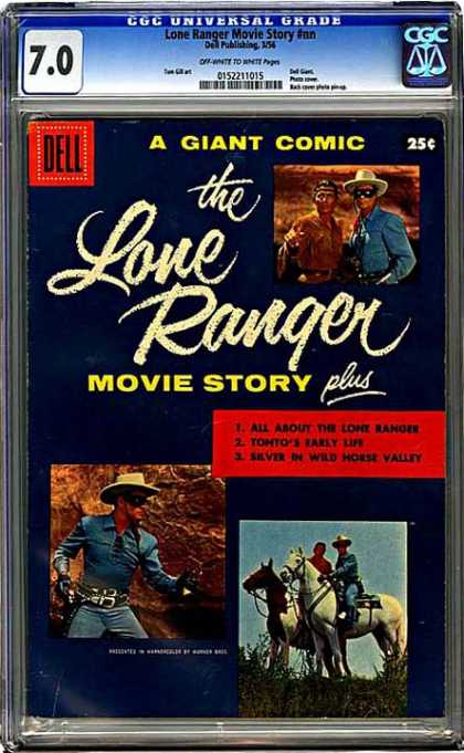 CGC Graded Comics - Lone Ranger Movie Story #nn (CGC)