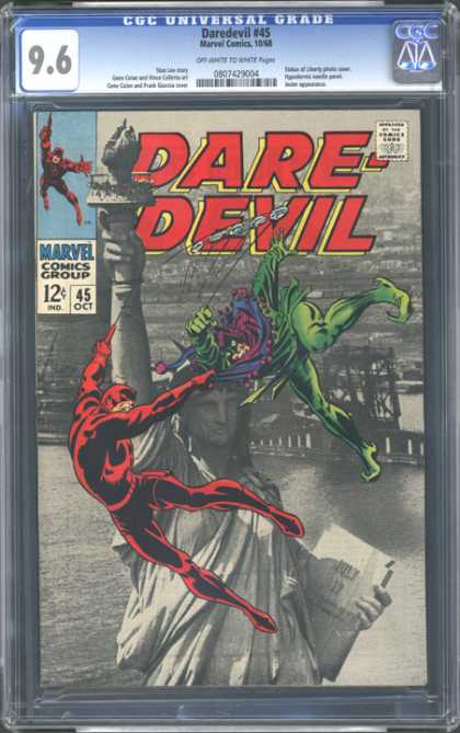 CGC Graded Comics - Daredevil #45 (CGC)