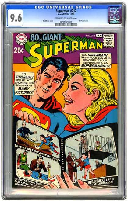 CGC Graded Comics - Superman #212 (CGC)