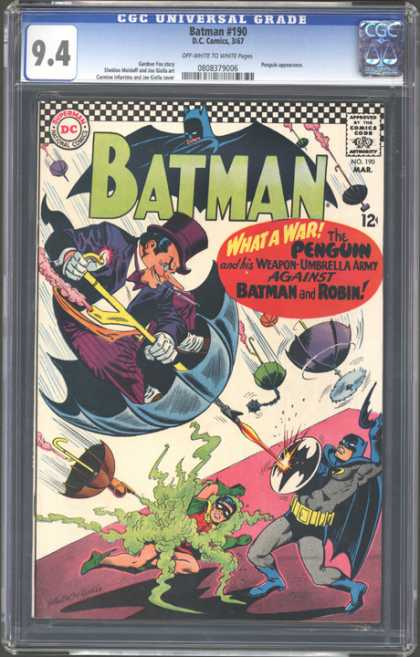 CGC Graded Comics - Batman #190 (CGC)
