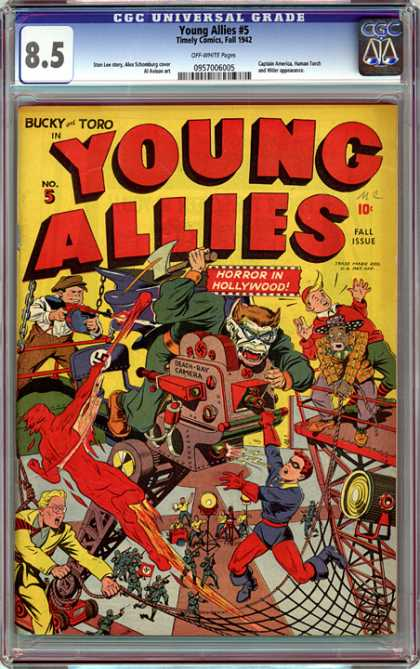 CGC Graded Comics - Young Allies #5 (CGC)