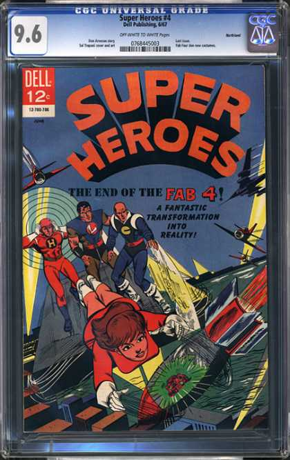 CGC Graded Comics - Super Heroes #4 (CGC)