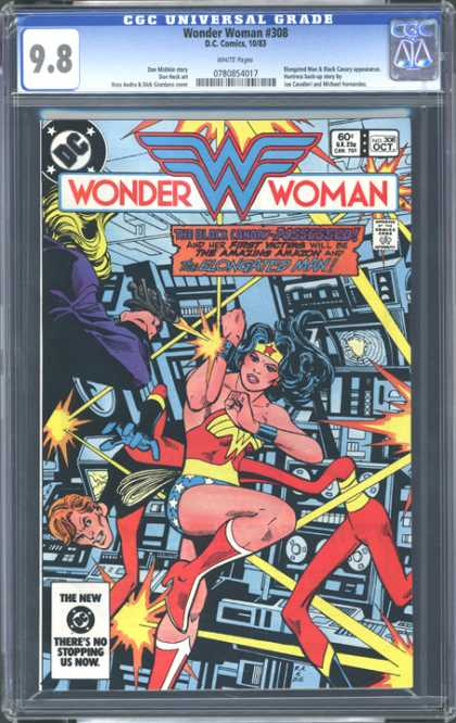CGC Graded Comics - Wonder Woman #308 (CGC)