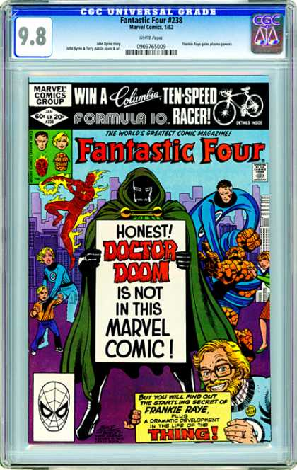 CGC Graded Comics - Fantastic Four #238 (CGC)