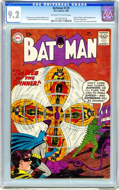 CGC Graded Comics - Batman #129 (CGC)