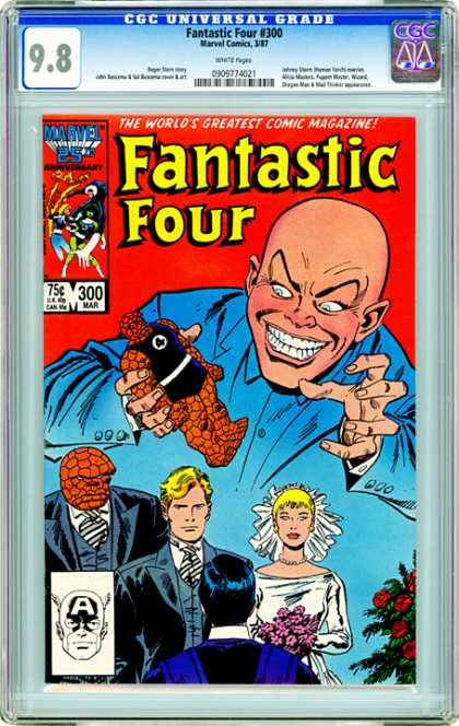 CGC Graded Comics - Fantastic Four #300 (CGC)