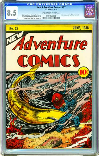 CGC Graded Comics - New Adventure Comics #27 (CGC)