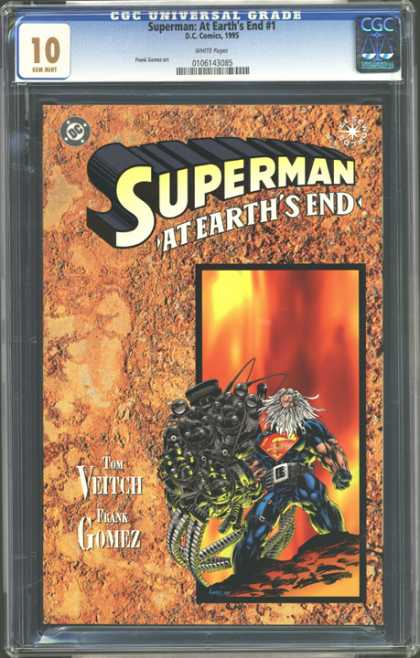 CGC Graded Comics - Superman: At Earth's End #1 (CGC)