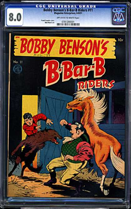CGC Graded Comics - Bobby Benson's B-Bar-B Riders #11 (CGC)
