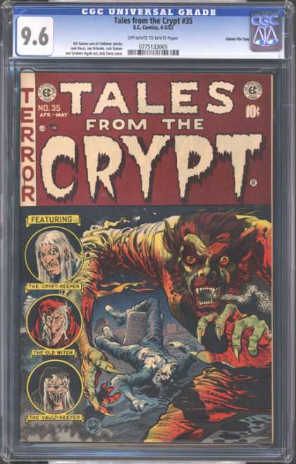 CGC Graded Comics - Tales from the Crypt #35 (CGC)