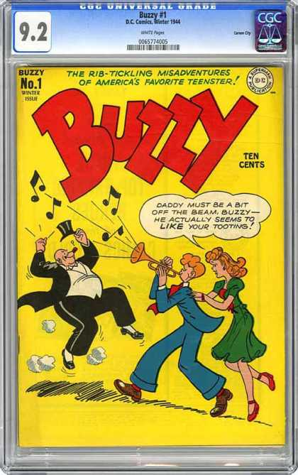 CGC Graded Comics - Buzzy #1 (CGC)