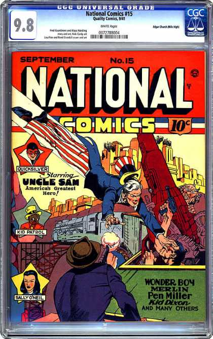 CGC Graded Comics - National Comics #15 (CGC)
