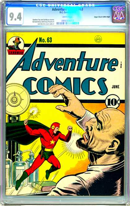 CGC Graded Comics - Adventure Comics #63 (CGC)