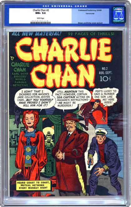 CGC Graded Comics - Charlie Chan #2 (CGC)