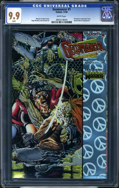 CGC Graded Comics - Geomancer #1 (CGC)