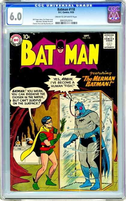 CGC Graded Comics - Batman #118 (CGC)
