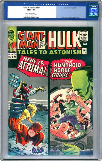 CGC Graded Comics - Tales to Astonish #64 (CGC)