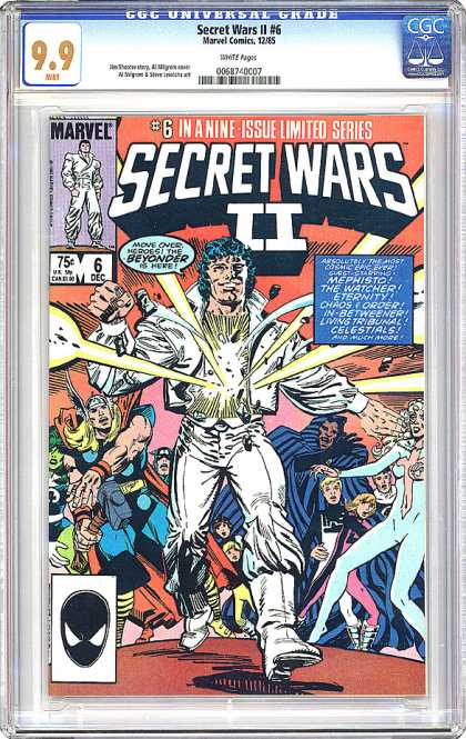CGC Graded Comics - Secret Wars II #6 (CGC) - 99 - Marvel - Secret Wars Ii - 6dec - 75c
