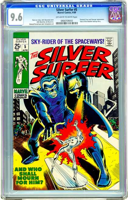 CGC Graded Comics - Silver Surfer #5 (CGC)