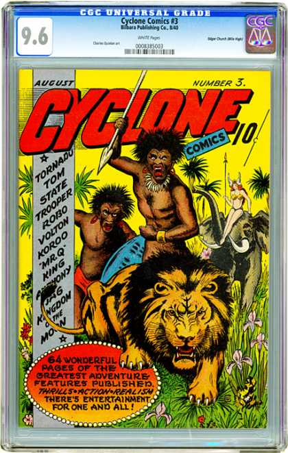 CGC Graded Comics - Cyclone Comics #3 (CGC)