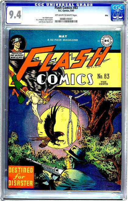 CGC Graded Comics - Flash Comics #83 (CGC)