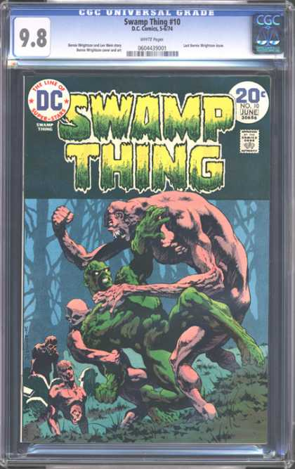 CGC Graded Comics - Swamp Thing #10 (CGC)