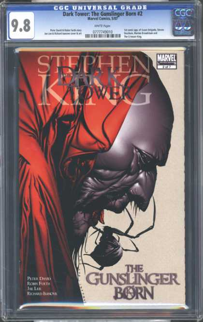 CGC Graded Comics - Dark Tower: The Gunslinger Born #2 (CGC) - Marvel - Stephen King - Dark Tower - The Gunslinger Born - Spider
