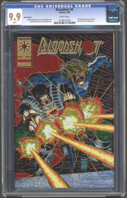 CGC Graded Comics - Bloodshot #0 (CGC)