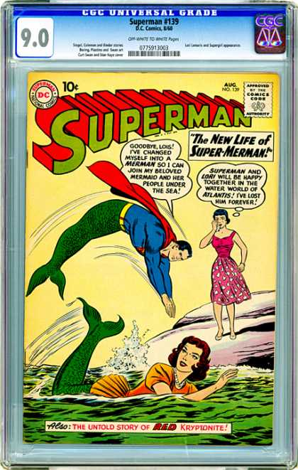 CGC Graded Comics - Superman #139 (CGC)