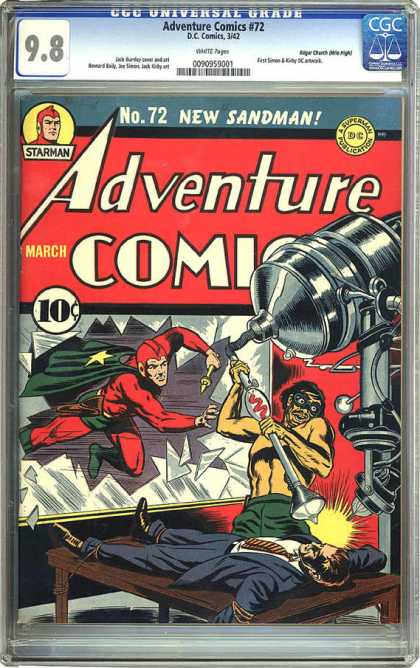 CGC Graded Comics - Adventure Comics #72 (CGC)