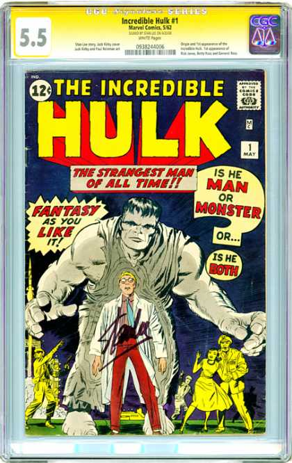 CGC Graded Comics - Incredible Hulk #1 (CGC)