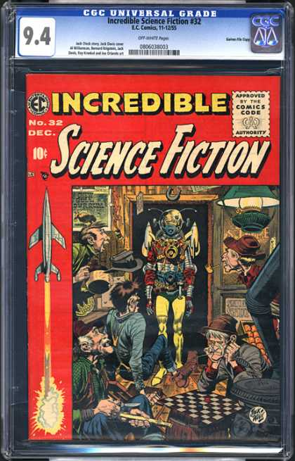 CGC Graded Comics - Incredible Science Fiction #32 (CGC)