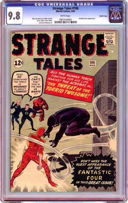CGC Graded Comics - Strange Tales #106 (CGC)