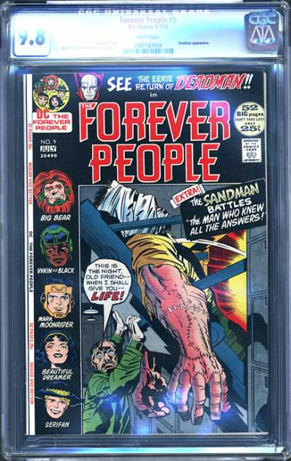 CGC Graded Comics - Forever People #9 (CGC)