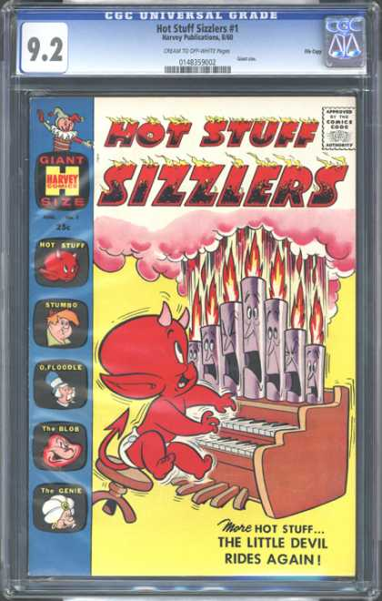 CGC Graded Comics - Hot Stuff Sizzlers #1 (CGC) - Hot Stuff Sizzlers - Giant Size - Harvey Comics - Comics Good - The Slob